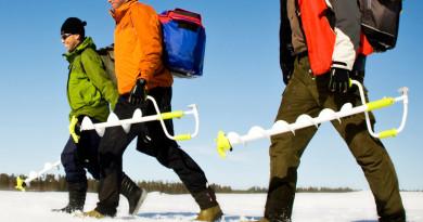 Выбираем ледобур для рыбалки зимой