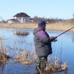 ловля в марте на удочку