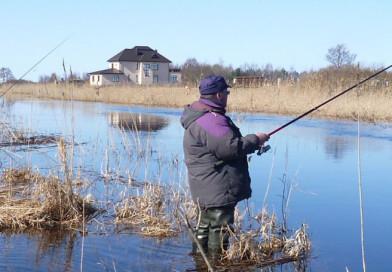 Ловля на поплавочную удочку в марте
