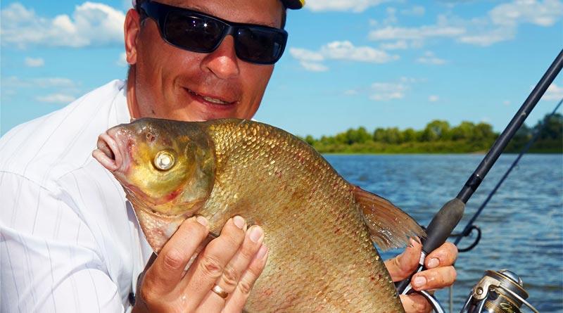 как поймать ловить леща озеро