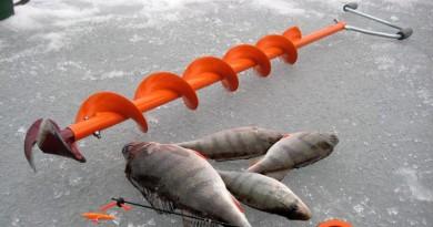 Ледобур для зимней рыбалки фото