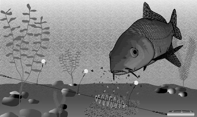 Почему рыба ловится на пенопласт?