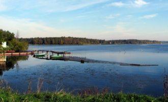 Озеро Сенеж в поселке Солнечногорск