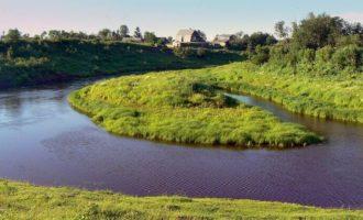 Река Галактиониха в Красноярском крае