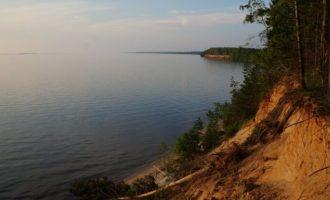 Горьковское водохранилище в селе Порботное