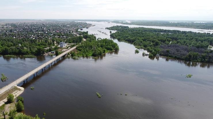 Река Владимировка в городе Ахтубинск