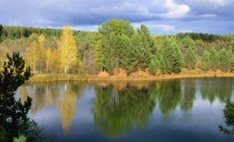 Озеро Капитоновское в поселке Свободное
