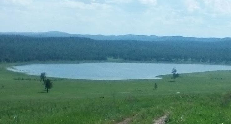 Озеро Тазоль в Красноярском крае
