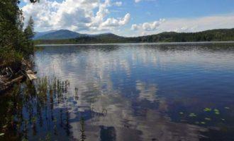 Озеро Убинское в Красноярском крае