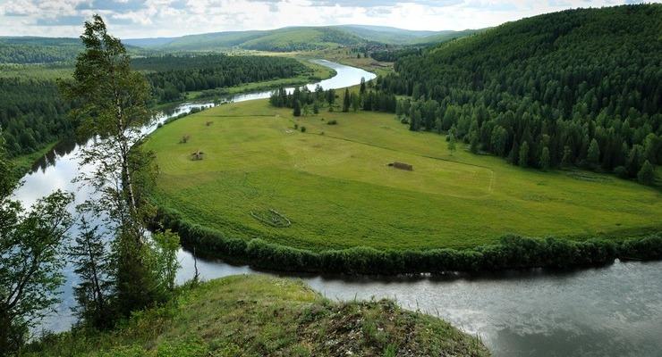Река Большая Березовая в Красноярском крае
