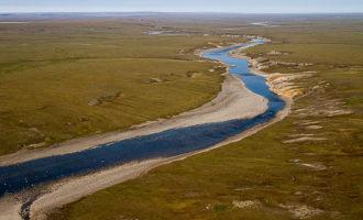 Река Пясина в Красноярском крае