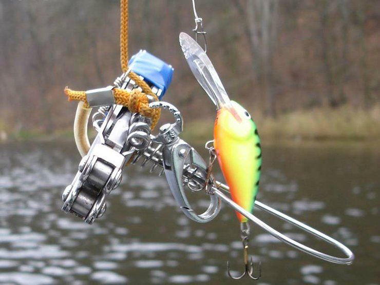 Виды зацепов на рыбалке