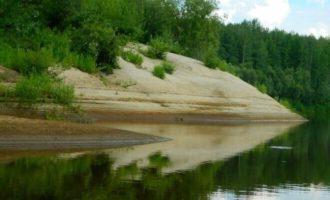 Река Сочур в Красноярском крае
