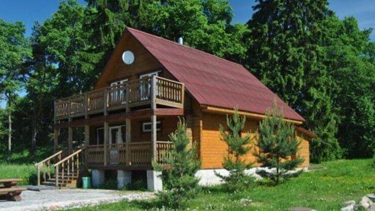 База отдыха Большие Камни в деревне Кротово