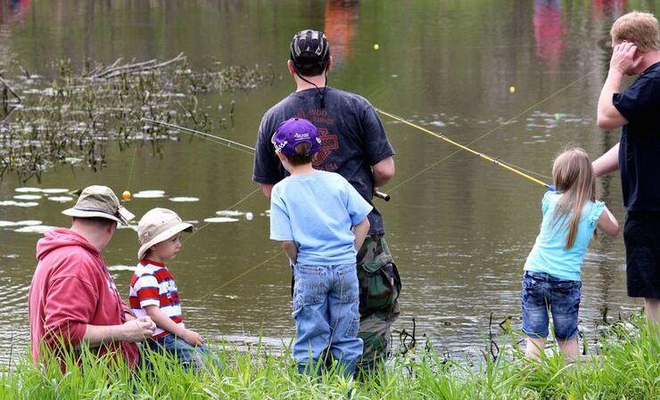 На рыбалку с ребенком