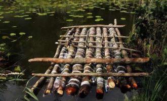 Плот для рыбалки своими руками