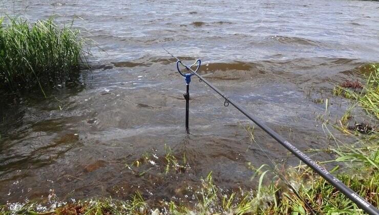 Ловля рыбы при сильном ветре