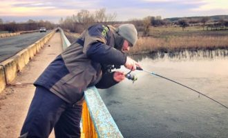 Ловля голавля с мостов